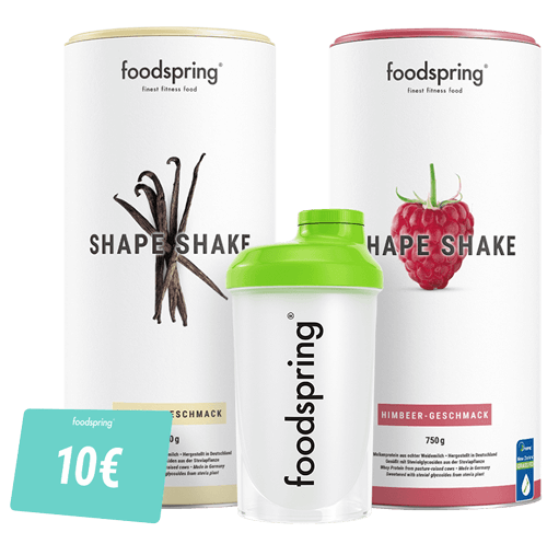 Pack Shape Shake - Édition Limitée Finie la routine ! Avec 2 saveurs.
