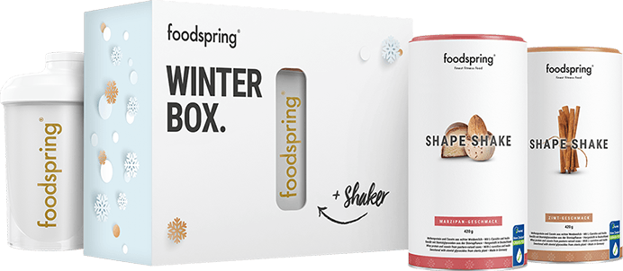 Winter Box Shape Limited winter flavors + special shaker