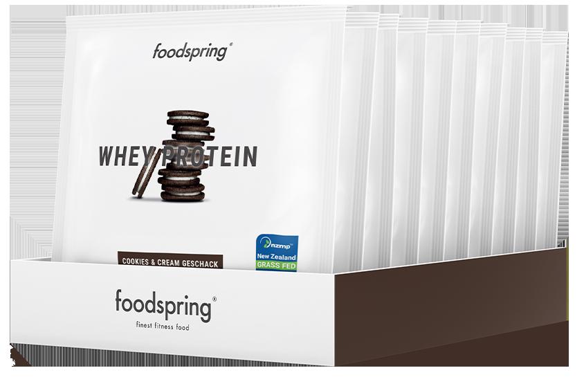 Whey Protein Probierportion 10er-Paket