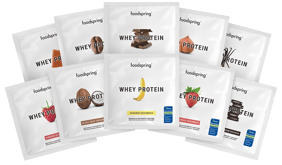 Proteína Whey muestras en Pack de 10