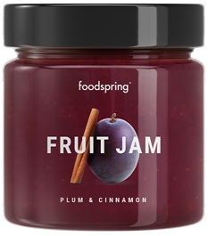 Fruit Jam Plum Cinnamon