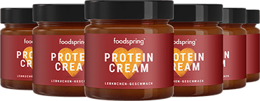 Gingerbread Protein Cream 6-Pack Gingerbread spread with 85% less sugar*