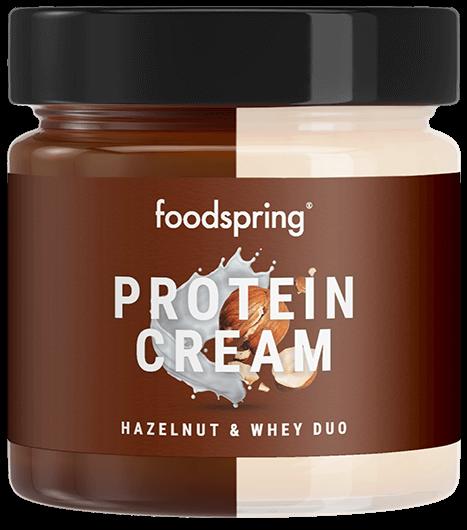 Protein Cream Duo Crema de avellanas & proteína whey con un 85% menos de azúcar*