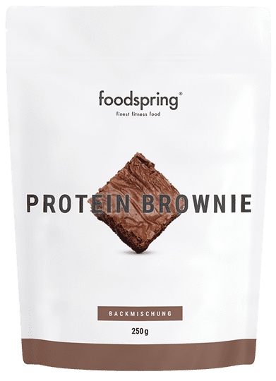 Protein Brownie Totally chocolatey. No guilty conscience.