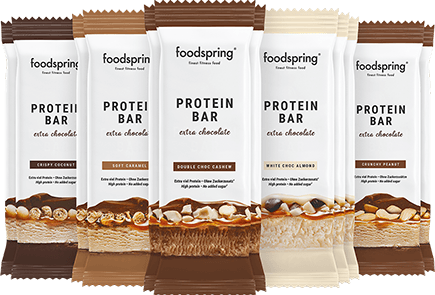 Protein Bar Extra Chocolate Pack de 12 mix La barre chocolatée sans culpabilité.