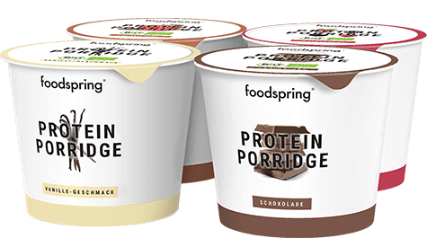 Protein Porridge To Go 4 Pack Less added sugar, more authentic flavor