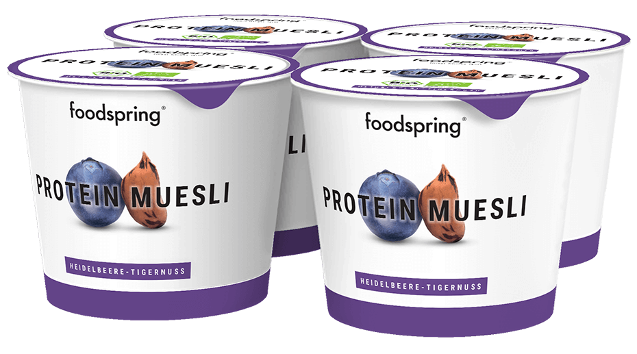Protein Muesli To Go 4-Pack