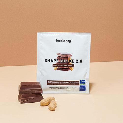 Shape Shake 2.0 Sachet Chocolat - Beurre de cacahuète