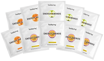 Energy Aminos Taster 10-Pack Pre-workout drink to take you to the next level