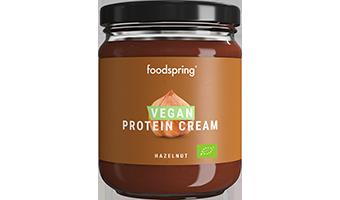 Vegan Protein Cream Hazelnut 100% plant-based, organic, low-sugar spread