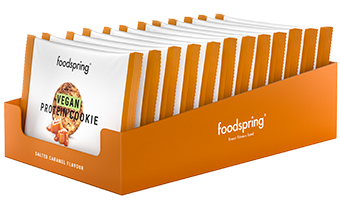 Vegan Protein Cookie 12 pack Delicious plant-based snack that's crunchy like a real cookie