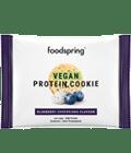 Vegan Protein Cookie Blueberry Cheesecake