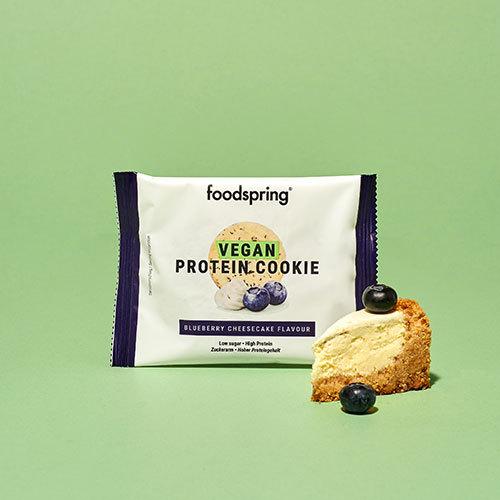 Cookie Protéiné Vegan Pack de 12 Cheesecake à la myrtille