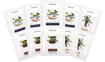 Vegan Shape Shake Taster Pack The perfect plant-powered weight-loss* partner
