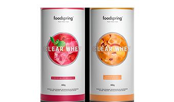 Clear Whey Eine neue, sommerliche Version unseres meistverkauften Whey Proteins