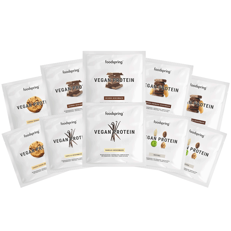 Vegan Protein To Go 10-Pack Mix