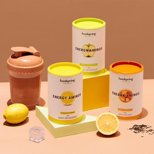 Energy Aminos saveur citron