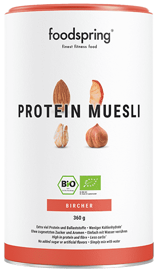 Protein Müsli Bircher An instant version of the Swiss classic.