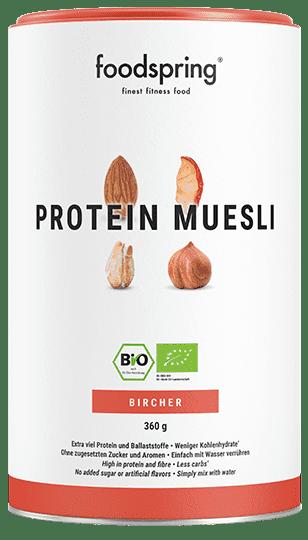Protein Bircher Müsli Das erste Instant-Bircher für deine Fitness.