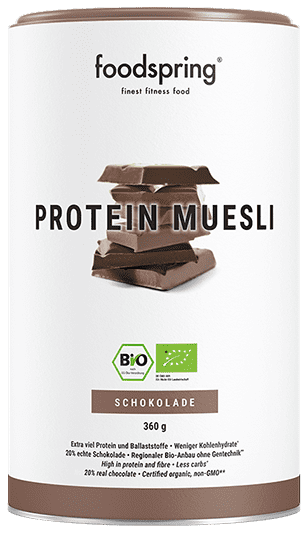 Protein Muesli Chocolate Crispy chocolate muesli for your fitness