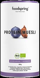 Protein Müsli Heidelbeere-Tigernuss