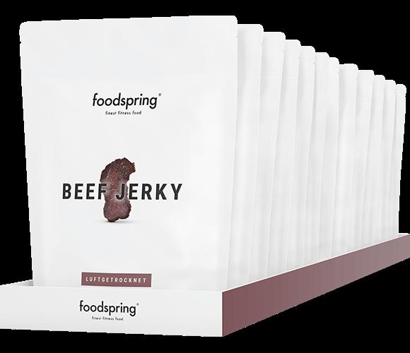 Beef Jerky pakket met 12 stuks