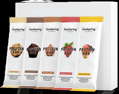 Protein Bar 12er Paket Mix Heißhunger? Nimm das.