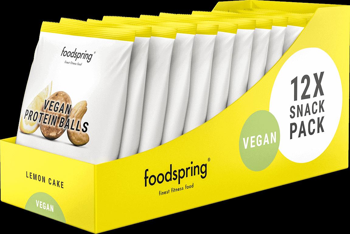 Vegan Protein Balls Pack de 12