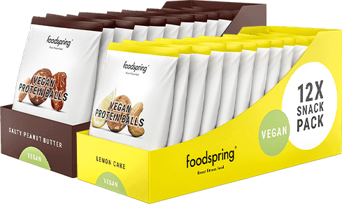 Vegan Protein Balls 12-pack A sweet vegan snack to go