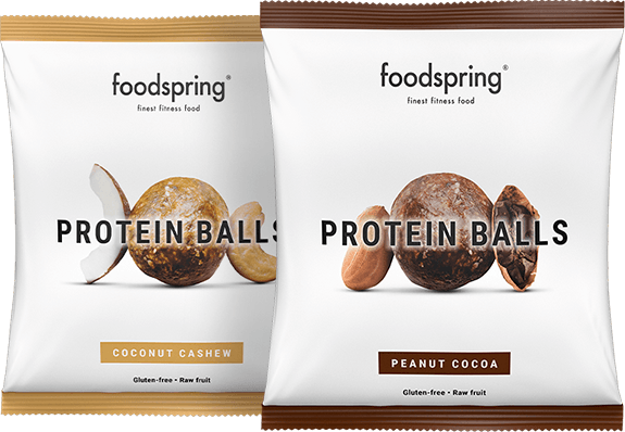 Protein Balls De ronde proteïne snack.