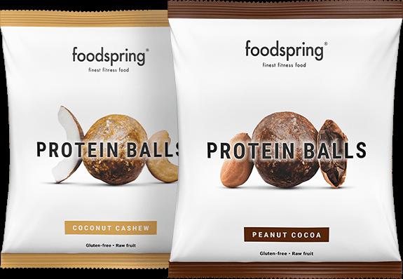 Protein Balls Der runde Protein-Snack.