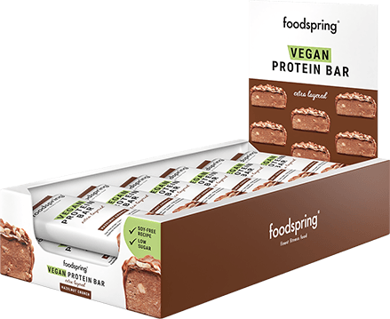 Vegan Protein Bar Extra Layered 12 pack A truly indulgent vegan treat