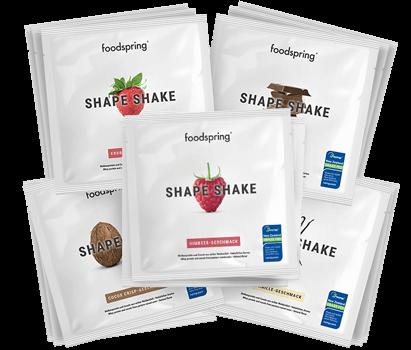 Shape Shake To Go Mix For a great figure: Shape Shake