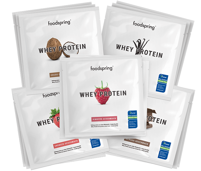Whey Protein To Go 15er Paket Mix