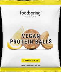 Vegan Protein Balls Lemon Cake