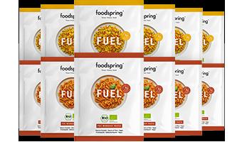 Fuel 12er-Paket Mix Echte Zutaten für eine echte Pre- und Post-Workout Mahlzeit