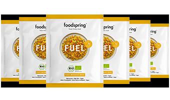 Fuel Post-Workout Reis 6er-Paket Echte Zutaten für eine echte Post-Workout Mahlzeit