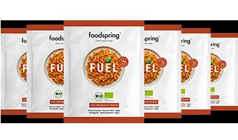 Fuel Pre-Workout Pasta 6er-Paket Echtes Essen für echte Pre-Workout-Power