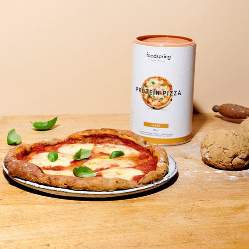 Glutenfreie & vegane Protein Pizza