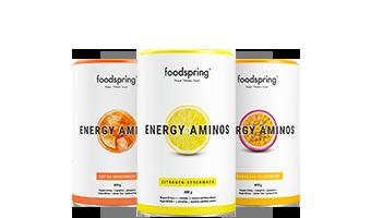 Energy Aminos Bevanda pre-allenamento per portarti al livello successivo