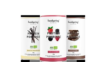 Porridge Proteico Meno zuccheri aggiunti, sapore più autentico