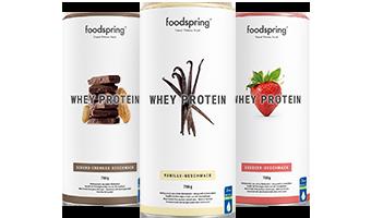 Whey Protein Weideprotein für stärkere Muskeln
