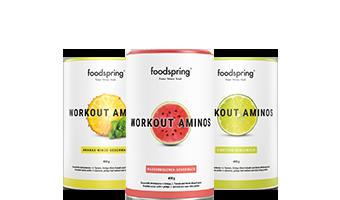 Workout Aminos La bevanda che ti dà la carica per allenarti