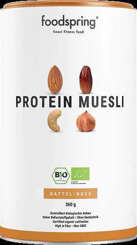 Protein Müsli Das Protein Müsli mit der Soja-Feinblattflocke.