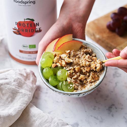 protein frukost recept