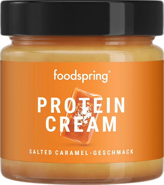 Salted Caramel Protein Cream Salted Caramel spread with 85% less sugar