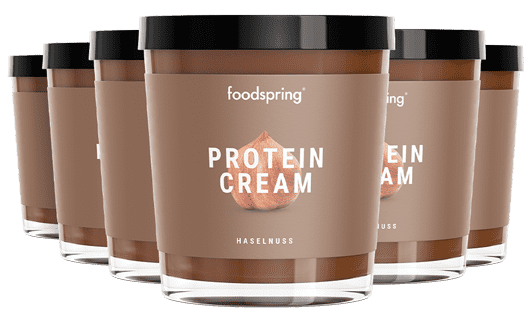 Protein Cream Hazelnut 6 Pack Chocolate spread with 85% less sugar