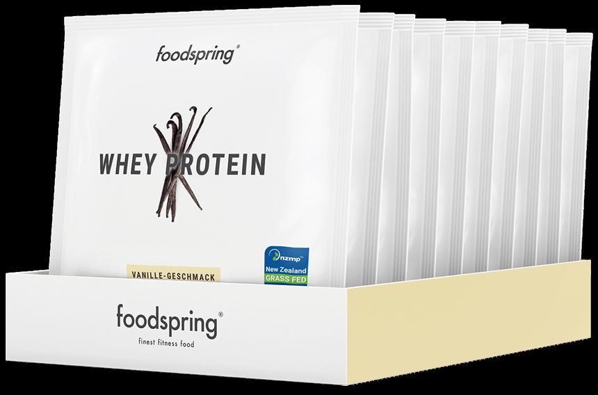 Protéine Whey Échantillon Pack de 10 Vanille