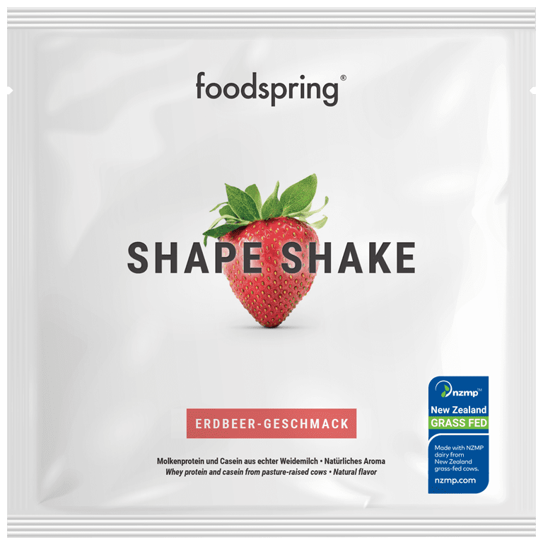 Shape Shake taster portion