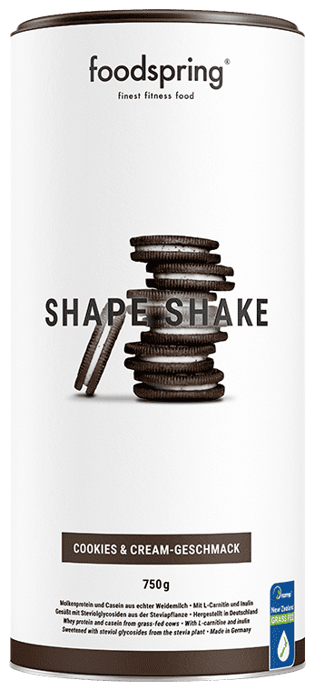 Shape Shake Cookies & Cream
